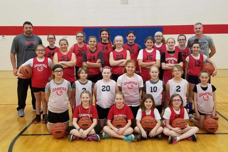 Elementary girls basketball